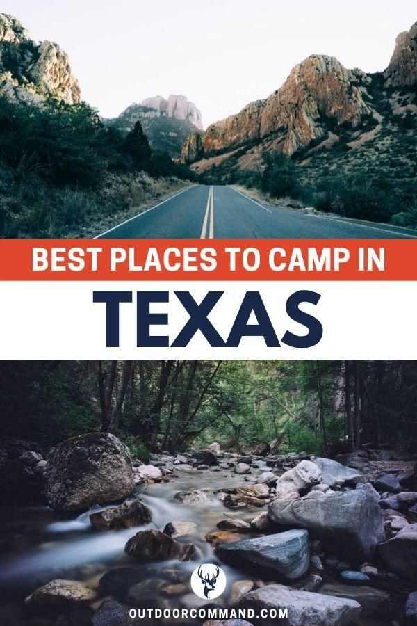 Best Places to Camp In Texas Cabins, RV Parks, tent ...