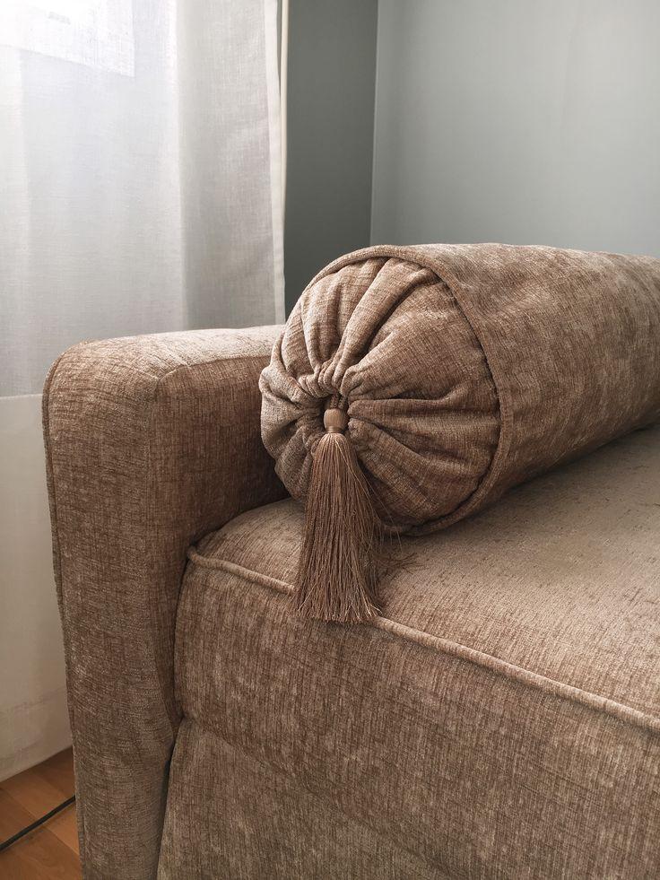 DIY. Velvet, sofa, sammet, soffa, dagbädd, day bed, cushions, kuddar.