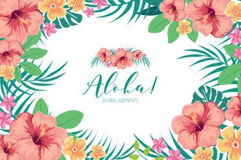 Summer Flowers ClipArt Tropical Summer Aloha Hawaiian Wedding Invitation DIY Pack This clip art pack features 12 elements perfect for scrapbooking, cards, web design, graphic design, invitations, handmade craft items, printed paper items and so much more! ✽ YOU WILL RECEIVE - 12 elements - each one is approximately (600-1500px) at the widest point - high quality 300dpi PNG files with transparent background ✽ INSTANT DOWNLOAD ✽ TERMS OF USE Products are for
