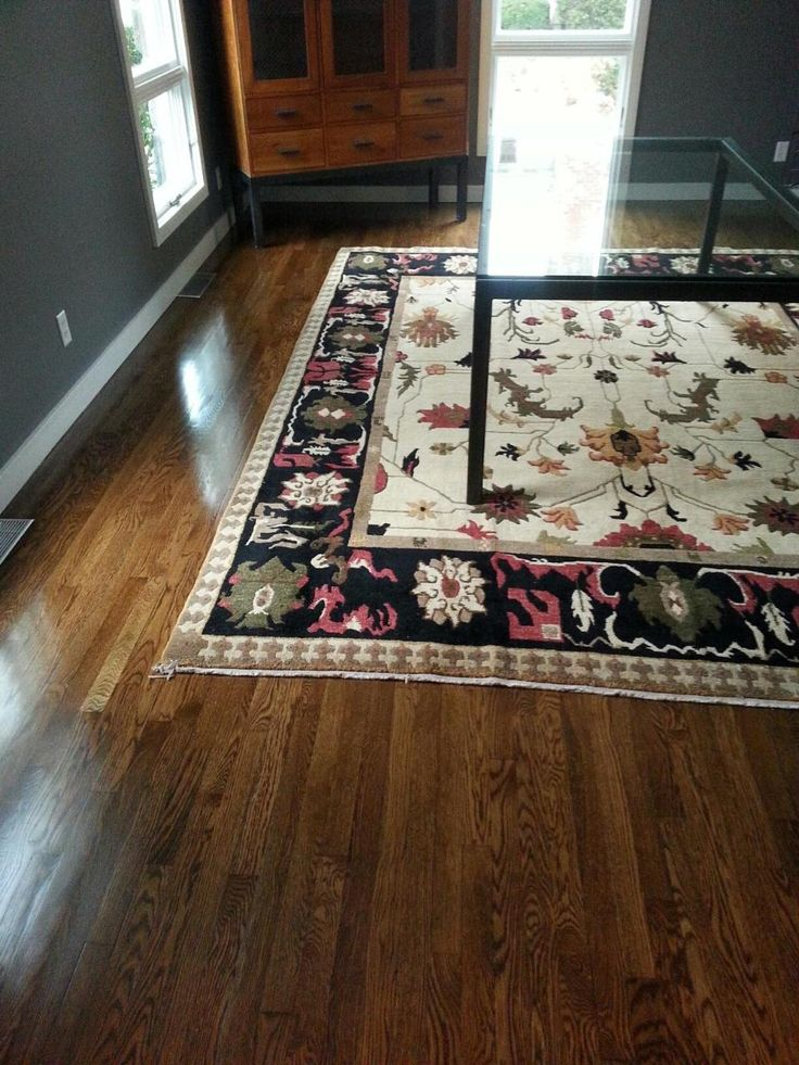 Central Mass Hardwood Was Hired To Restain White Oak
