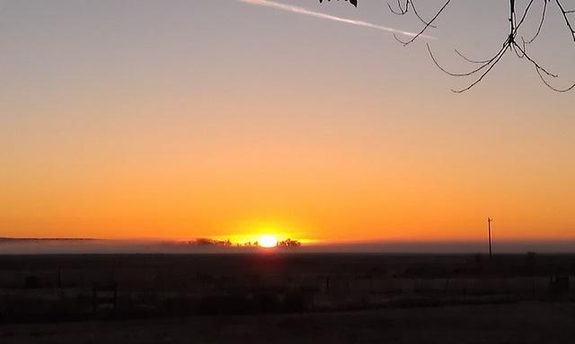 sunrise in Harney County, Oregon.  *ptrp*  (c)MarilynWilber'12