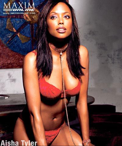 sexy aisha tyler photos | Aisha Tyler Pics: Actress, Model, Comedienne, Awesome