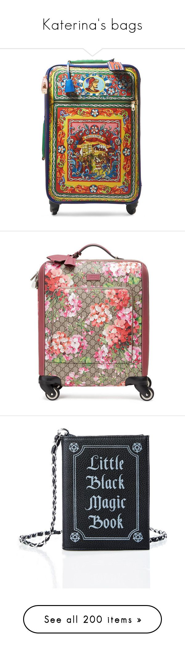 """Katerina's bags"" by katie-e-thomson ❤ liked on Polyvore featuring bags, luggage, accessories, fillers, tasker, travel bags, mens carry on bags, mens leather bags, gucci mens bag and mens leather carry on bag"