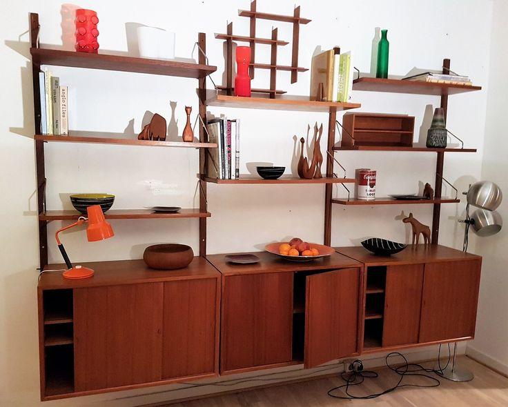 FINN – Poul Cadovius Royal System® i teak. Dansk designperle!! Retro- Vintage!!