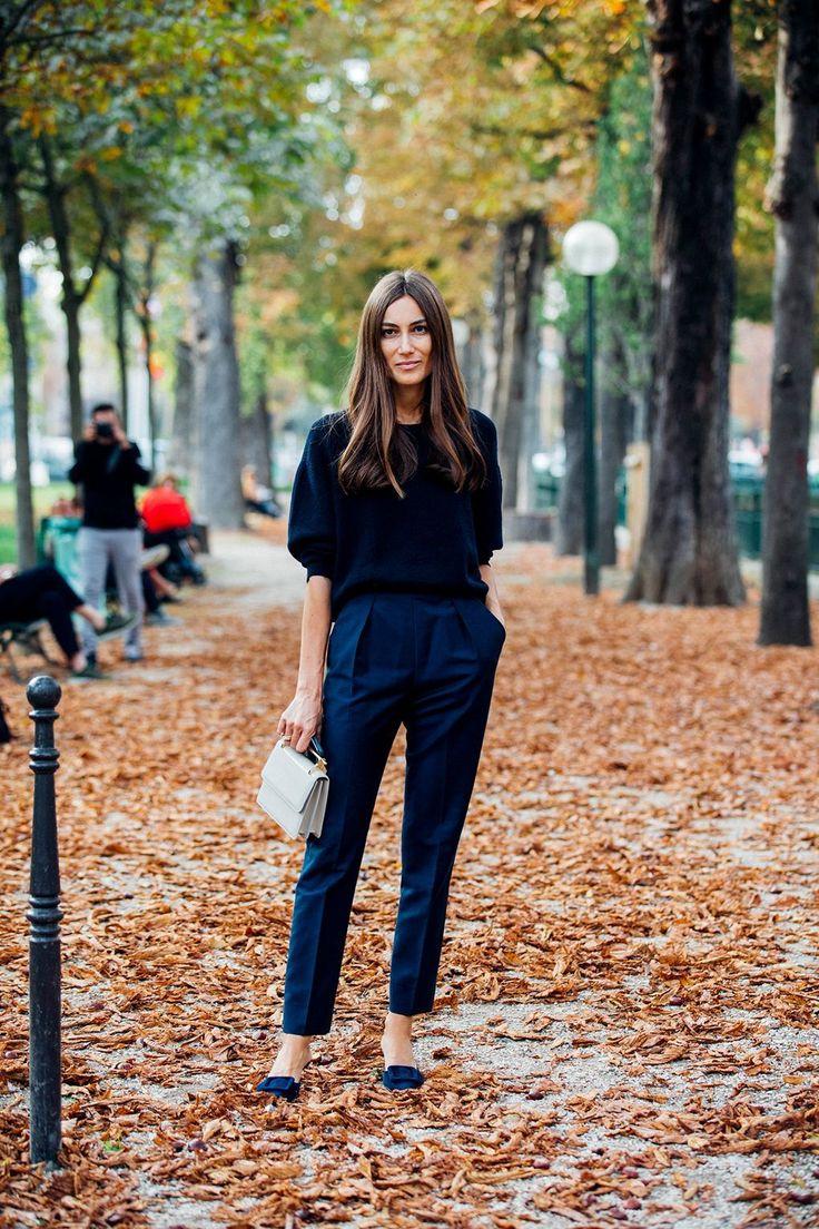 Paris Fashion Week Street Style: Autumn style