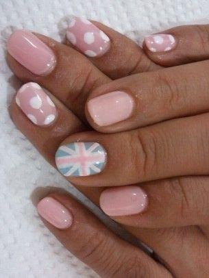 nail art pastello