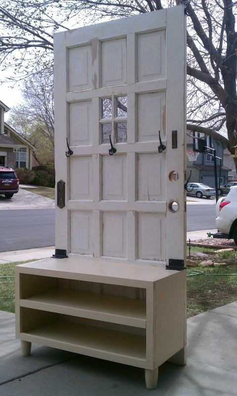 `I love this...and I have our old door that looks just like this....so :)...will show the husband. LOL!
