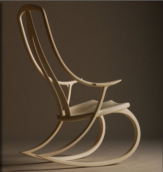 Fine Furniture By David Haig, Nelson, New Zealand Signature Rocking Chair  By David Haig