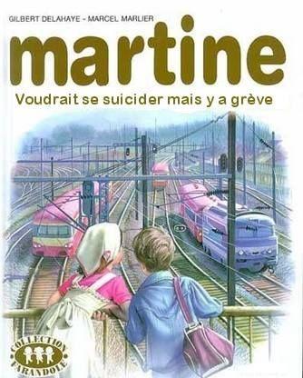 Martine et les grèves