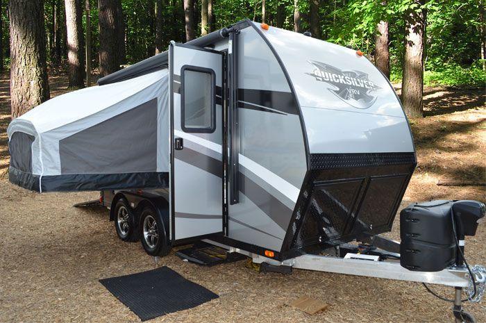 Campers For Sale In Mn >> QuickSilver VRV 6x15 Ultra Lightweight Toy Hauler | Toy hauler travel trailer, Toy hauler, Camper