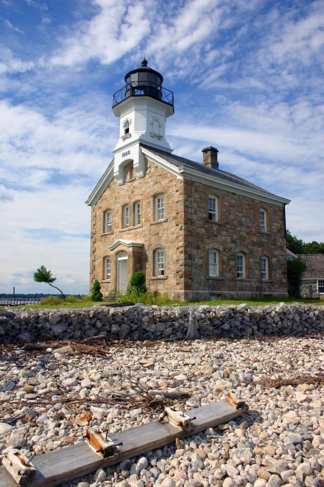 Sheffield Island Lighthouse, Norwalk, Connecticut...............................