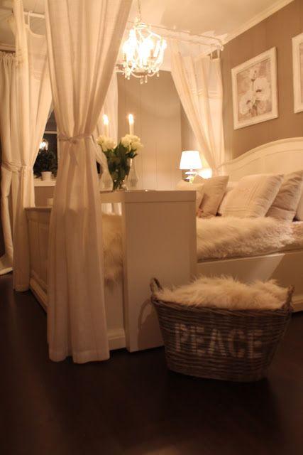 Lovely, romantic master bedroom.