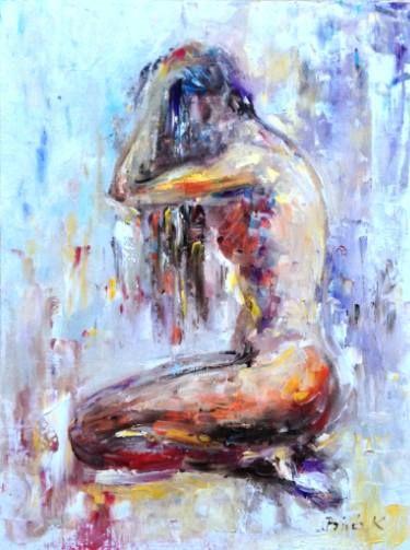 kneeling nude...