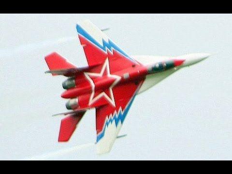MIKOYAN MiG-29M OVT >>>   3D THRUST VECTORING AEROBATICS