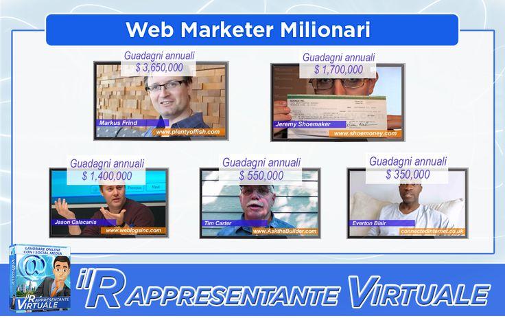 Web Marketer milionari..