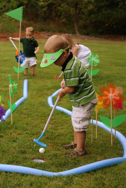"Photo 5 of 48: Golf / Birthday ""Gage is FORE...and a half!"" 