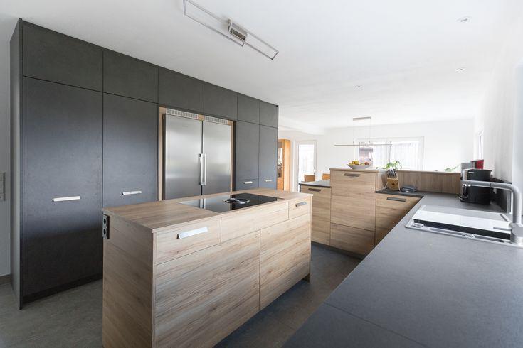 kücheninsel   kochinsel   grau   designerküche   design
