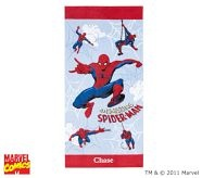 B would be so excited to have this for the beach (Spiderman beach towel)  #potterybarnkids