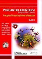 Gambar Buku PENGANTAR AKUNTANSI - ADAPTASI INDONESIA, Buku 1