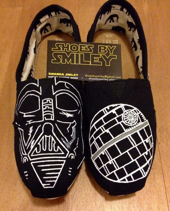 Community Post: 25 Beautifully Hand-Painted TOMS For Every Fandom  http://www.buzzfeed.com/chelseac16/25-pairs-of-hand-painted-toms-for-every-fandom-bi8s