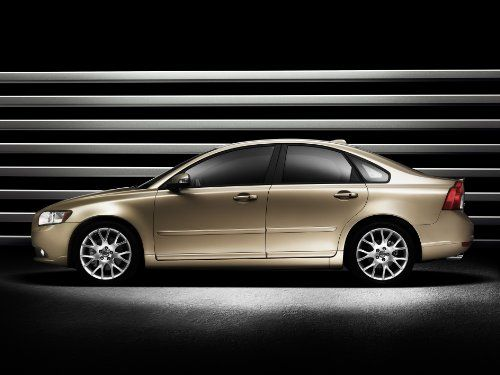 "Volvo S40 T5 (2008) Car Art Poster Print on 10 mil Archival Satin Paper Brown Side Studio View 24""x18"" Classic and Muscle Car Ads and Car Art: Disclosure: Affiliate link"