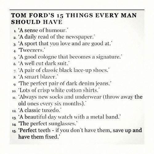 Stuff I Wish My Boyfriend Would Wear : theBERRY