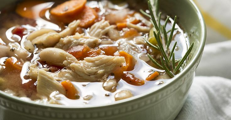 Slow Cooker White Bean Chicken Soup