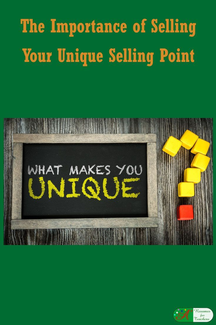 The Importance of Selling Your Unique Selling Point as a Teacher via @https://www.pinterest.com/candacedavies1/