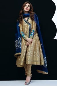 Picture of Organza Woven Angrakha