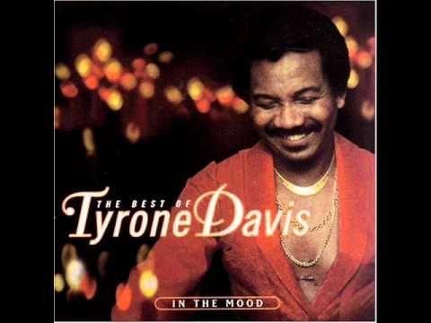 Tyrone Davis- In The Mood - YouTube