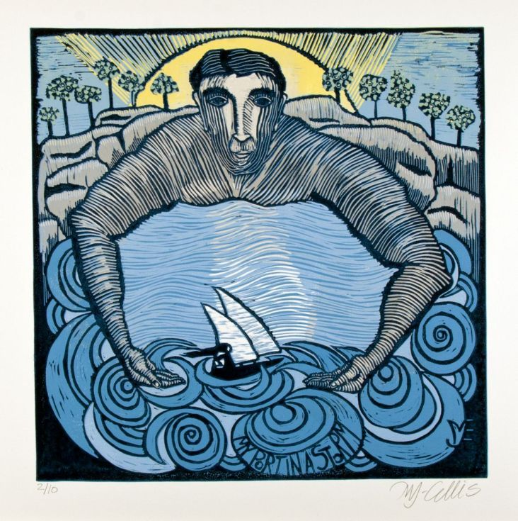 Buy My Port in a Storm , linocut reduction, Linocut by Mariann Johansen-Ellis on Artfinder. Discover thousands of other original paintings, prints, sculptures and photography from independent artists.