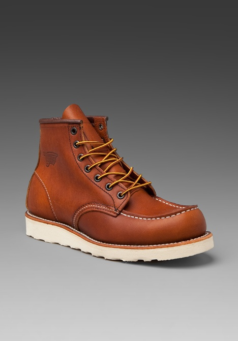 Red Wing 875's...got these over Spring Break from RockBottomShoes in Bklyn...LOVE THE iSHT outta these boys!