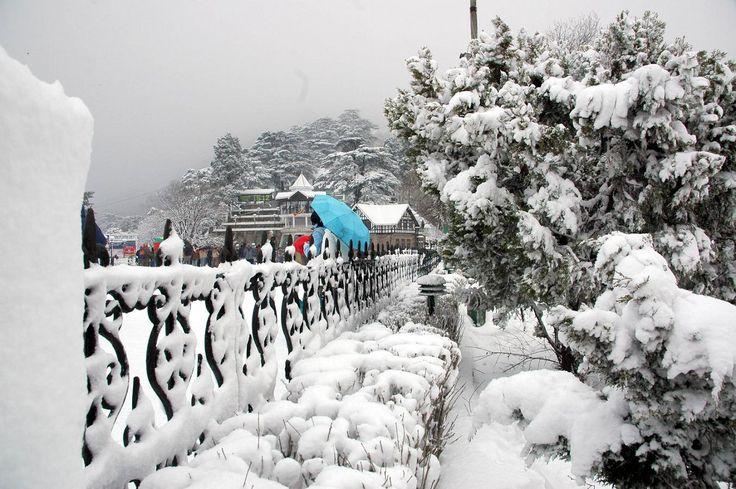 Shimla Hill Station - Popular Destination For Honeymoon - Himachal Pradesh - India