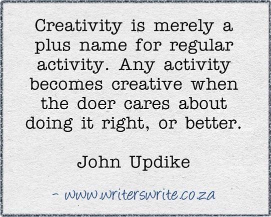 Characteristics of john updikes writing