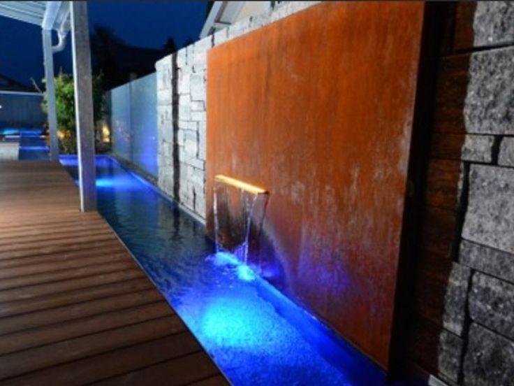 Wasserspiele – Sichtschutz Nachbarn