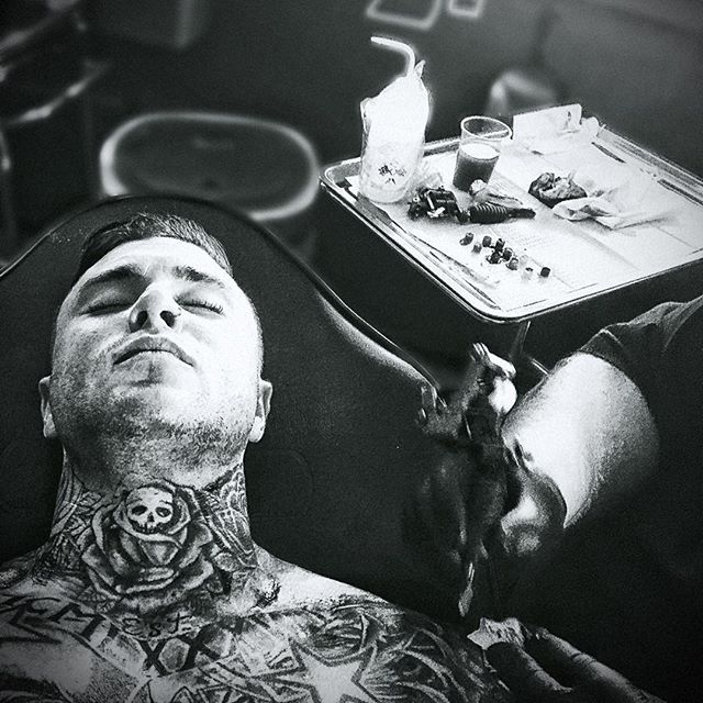 In my zone.. - Who loves getting fresh #tattoos... - And how many of you actually HAVE ink?? - Do you ever plan on getting any if you don't yet?? ________________________________________________________