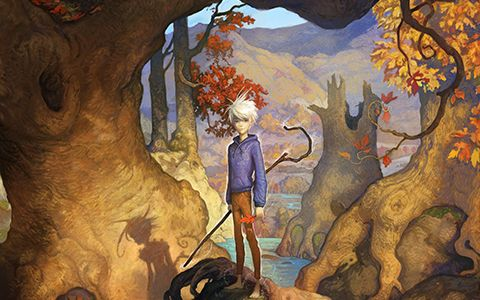 Artwork by William Joyce, whose 'Guardians' book series and characters inspired the 2012 feature, 'Rise of the Guardians.'