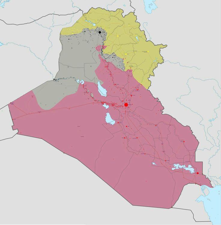 Map Uae Google%0A Situazione della guerra civile in Iraq