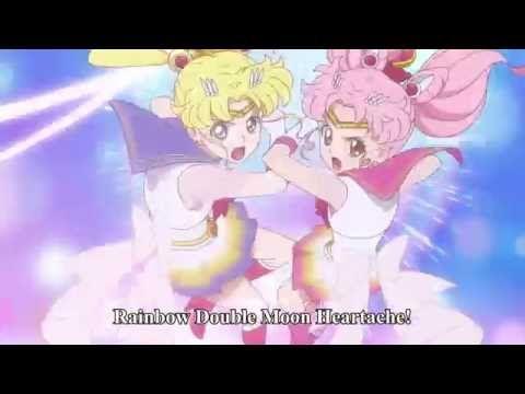 Sailor Moon Crystal - Season 3 - Super Sailor Moon & Chibi Moon - Rainbo...