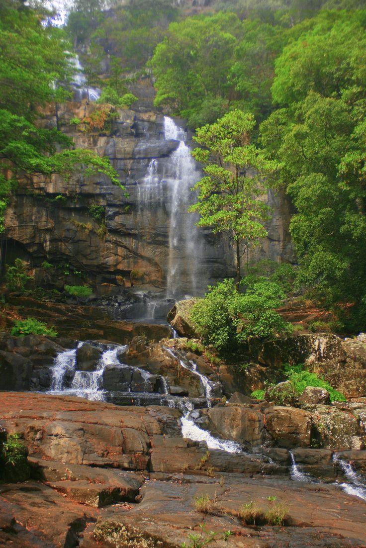 Murombodzi Falls, Gorongosa Mountain, Mozambique- Thank goodness its protected now!