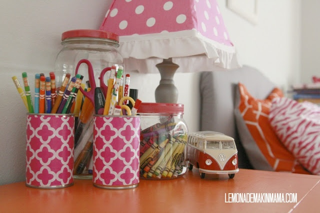 All in the details cute repurposed items for an orange - Stuff for girls rooms ...