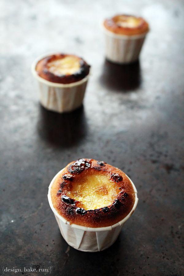 Mini Creme Brulee Cupcakes by designbakerun #Creme_Brulee #Mini