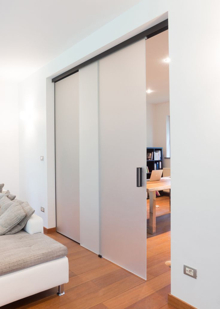 glass sliding door with fixed glass piece 50/50