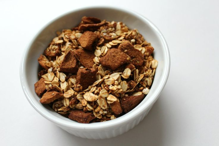 Apple Cinnamon Granola | Brunch-Breakfast | Pinterest