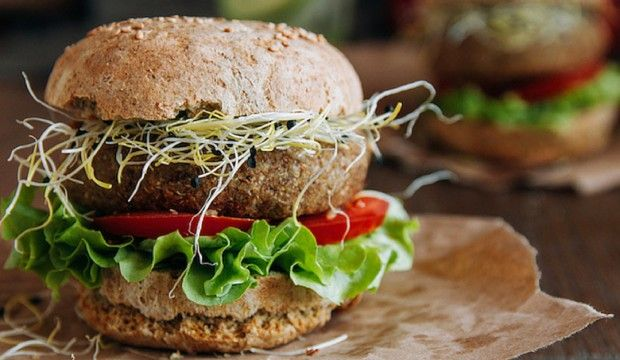 Expresní bochánek do burgeru pro vegetariány i vegany