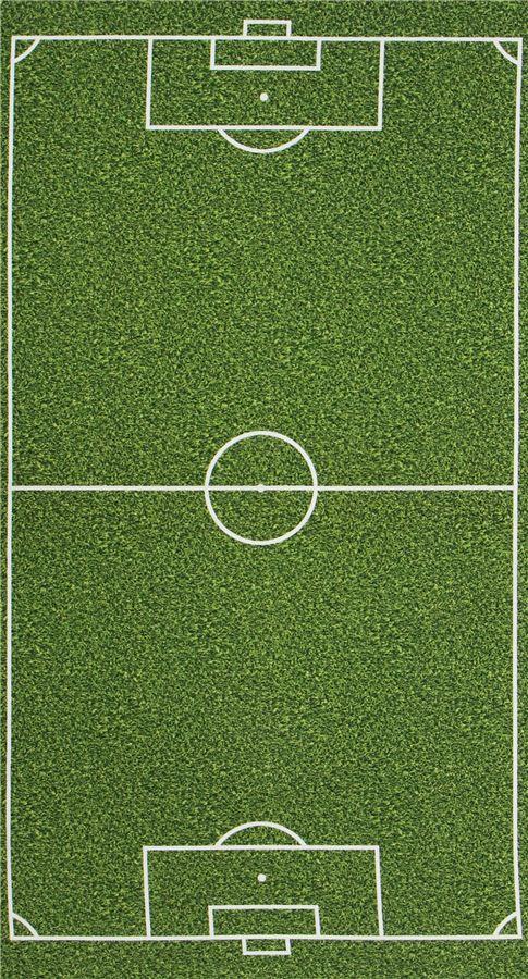 green panel soccer pitch fabric Robert Kaufman Sports Life world cup