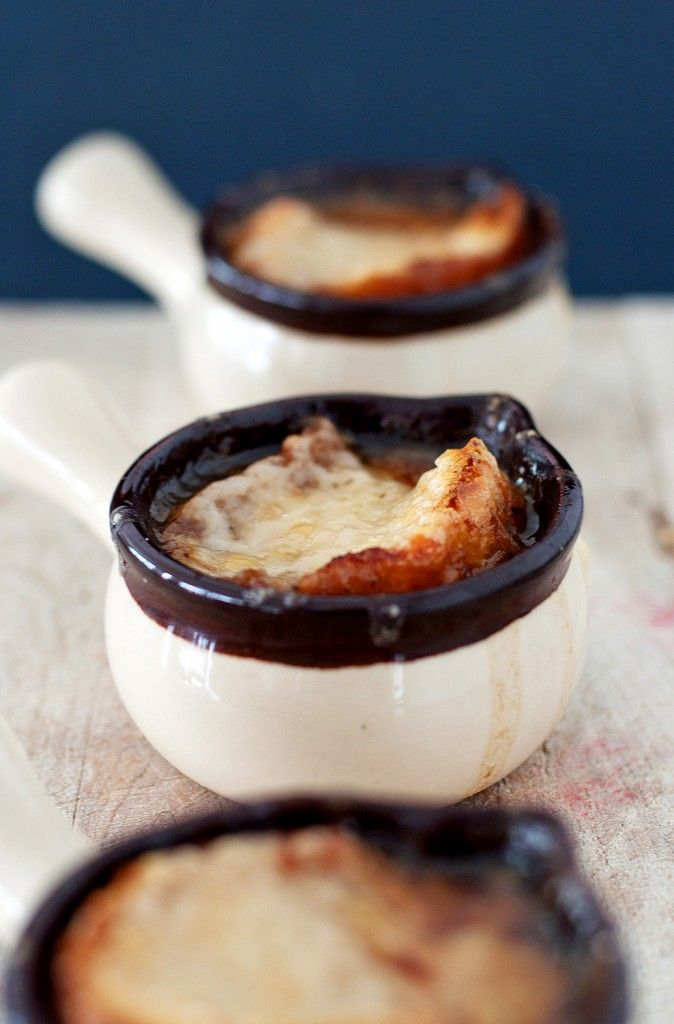 french onion soup ....