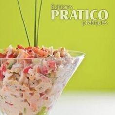 Chic et sophistiquée, cette salade aux fruits de mer est une belle idée de recette à servir en verrines pour une soirée entre amis.