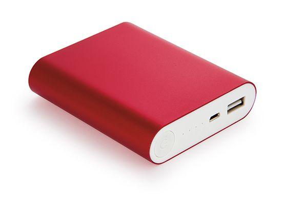 En Compranet Bateria Externa Multicargador de Energia 8000 mAh - Rojo CPN-01107-01 Visitanos en www.compranet.com.co