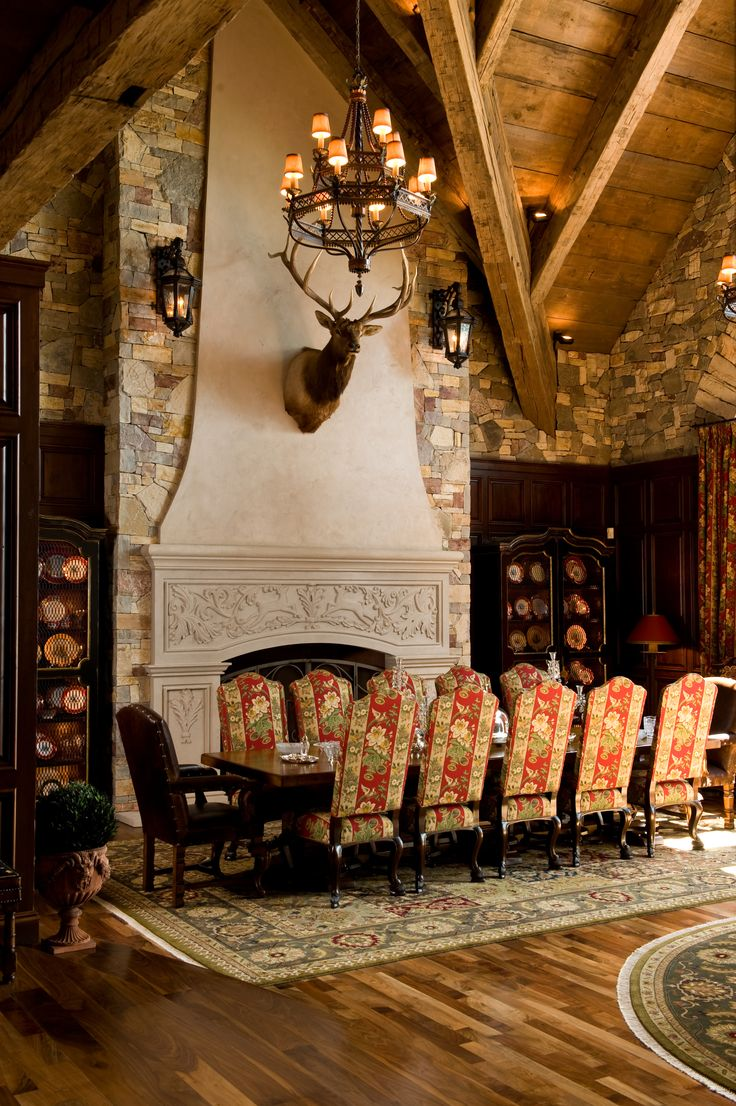 French Chateau - Dining Room